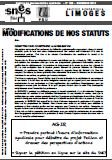 Bulletin modifications des statuts