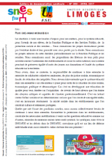Bulletin académique 350 - avril 2017